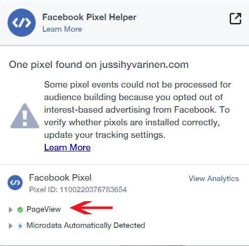 Facebook pikseli