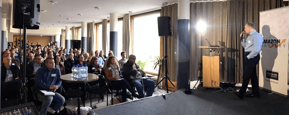 Amazon Mastery Live Jussi Hyvärinen
