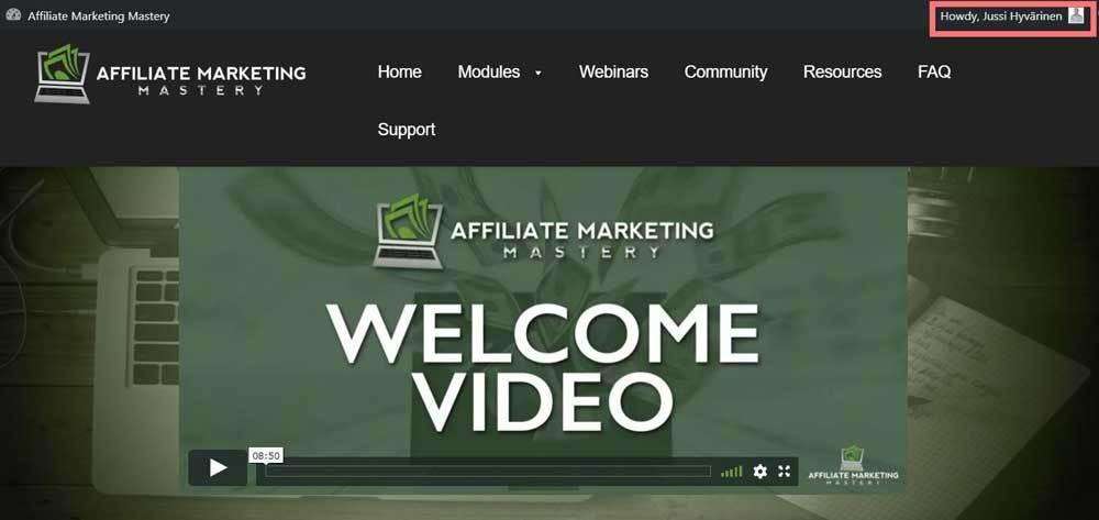 affilaite marketing mastery review