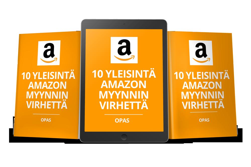 10 yleisintä Amazon-myynnin virhettä opas