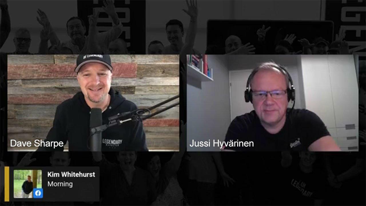 Dave Sharpe & Jussi Hyvärinen Wake up call