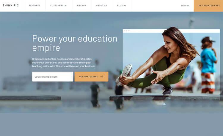 Thinkific high payin affiliate program
